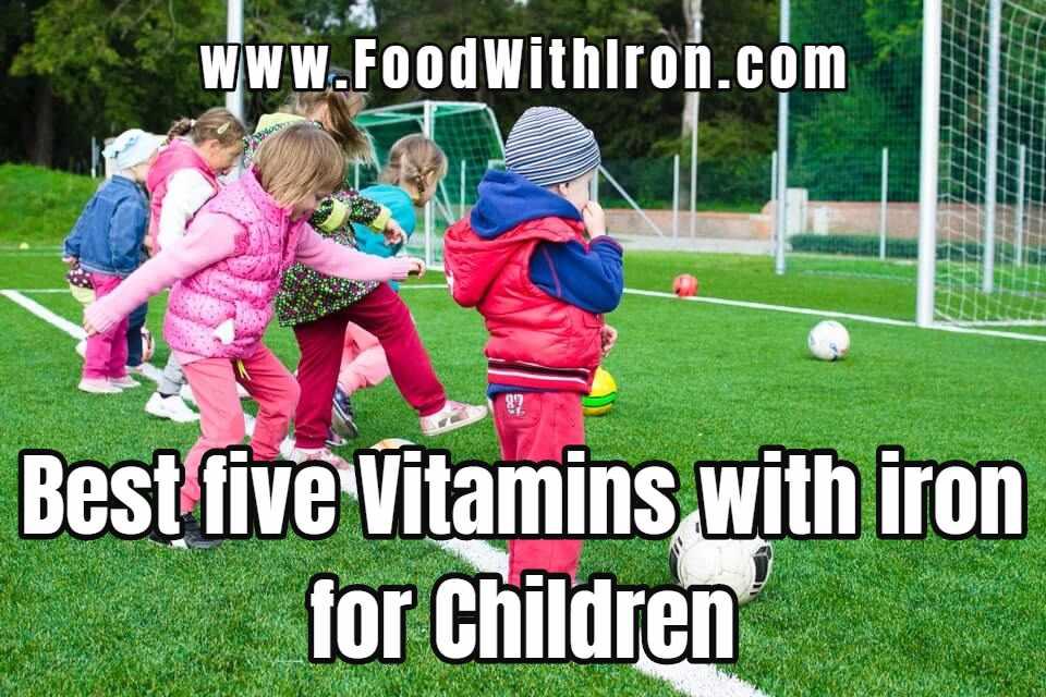Child Gummy Vitamin with Iron